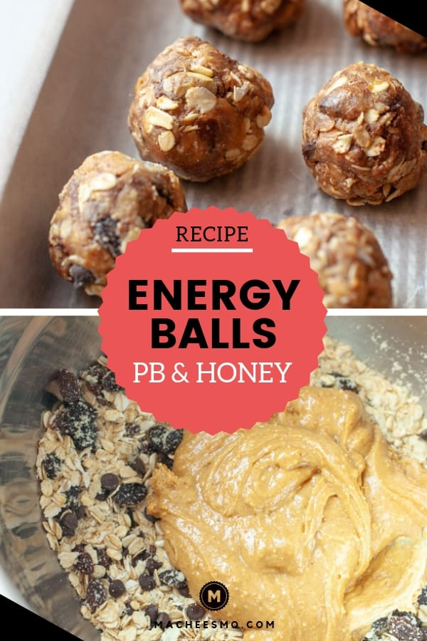 No Bake Peanut Butter Energy Balls