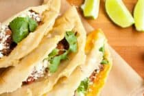 Fried Tacos with Beef Filling
