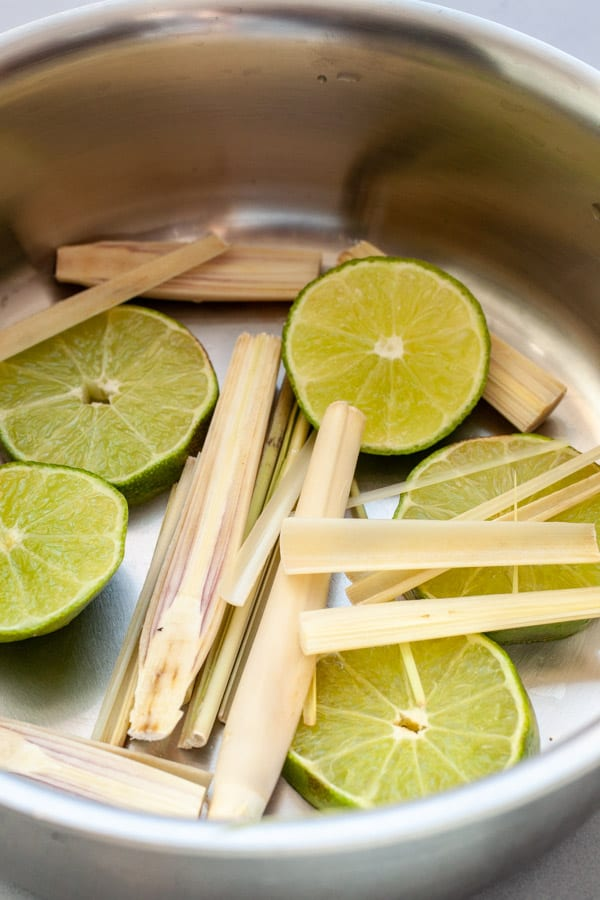Lemongrass and Lime - Spritzer