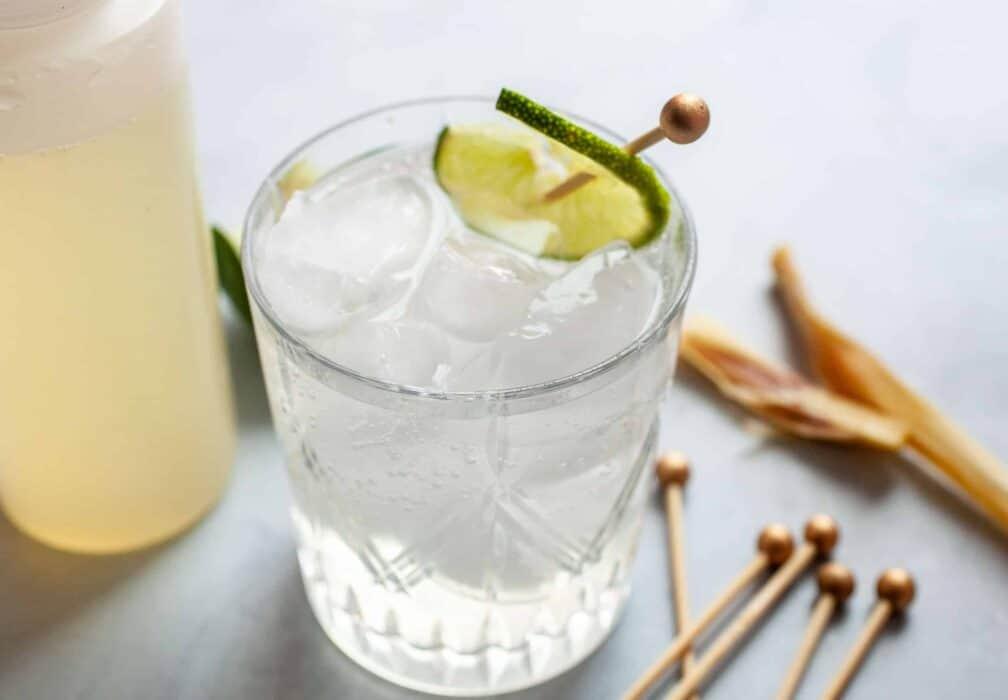 Lemongrass Lime Spritzer