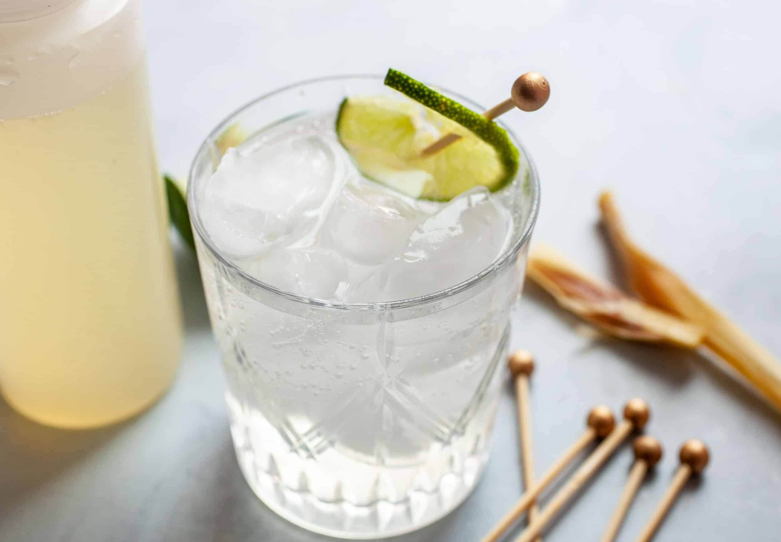 Lemongrass Lime Spritzer