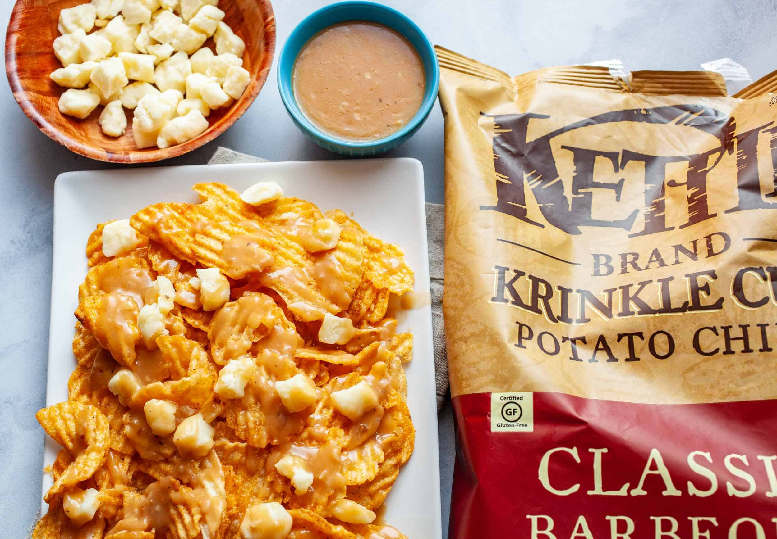 Kettle Potato Chip Poutine