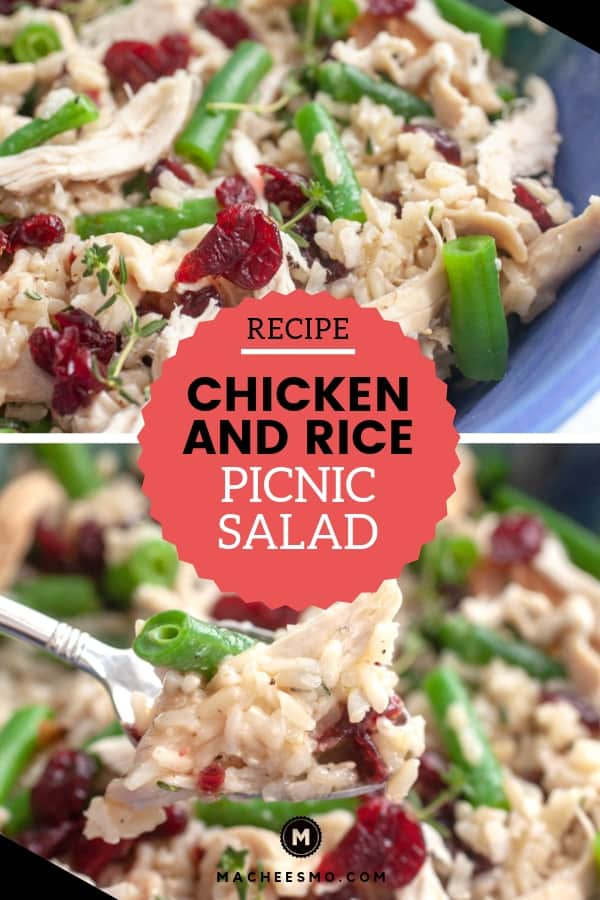 Chicken and Rice Picnic Salad