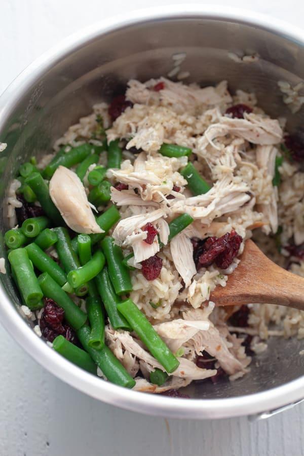 Mixed up - Chicken Rice Picnic Salad