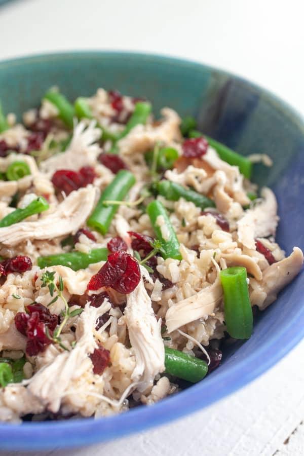 Chicken Rice Picnic Salad