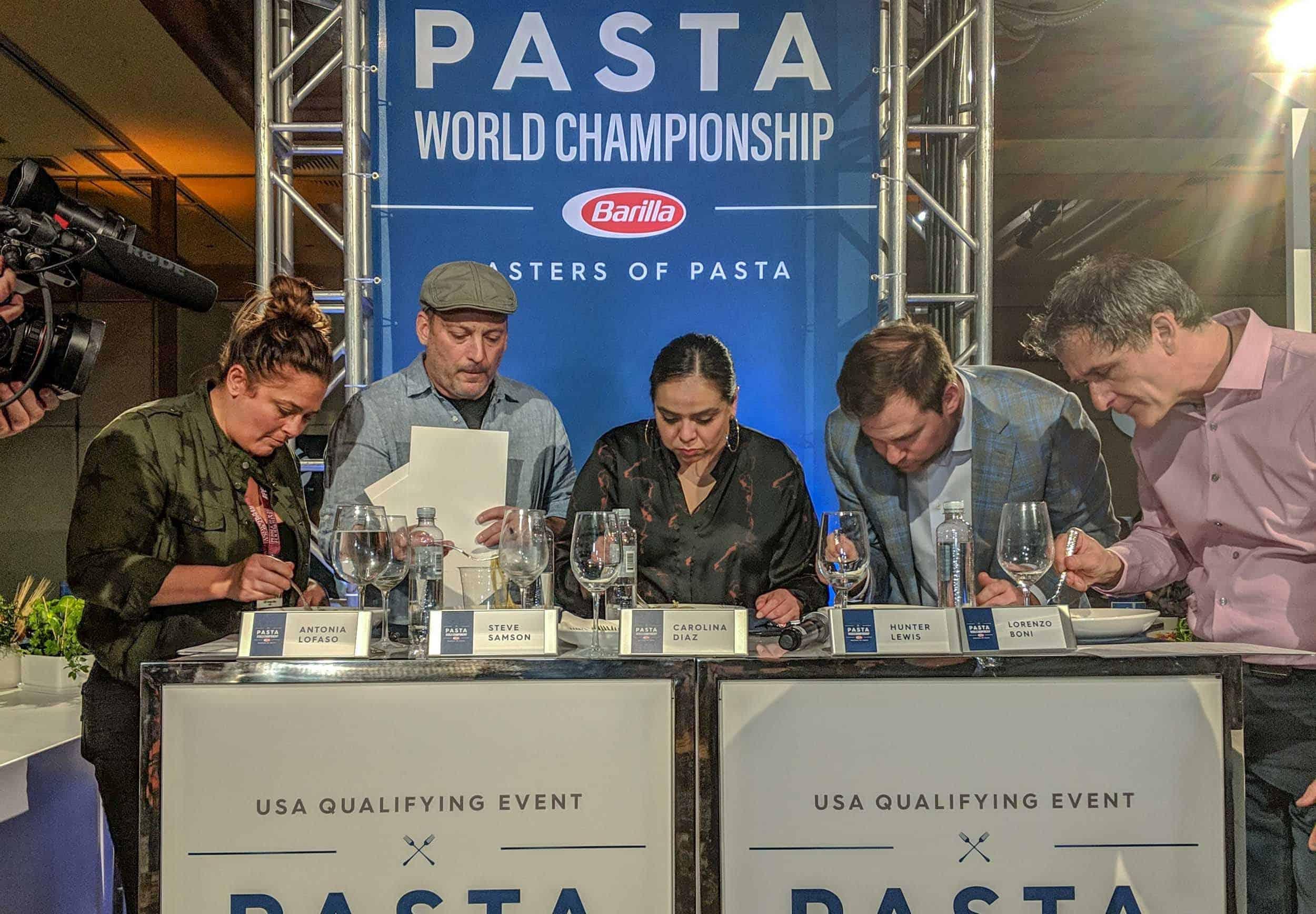 Pasta Judges