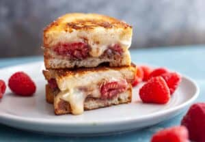 Raspberry Brie Grilled Cheese