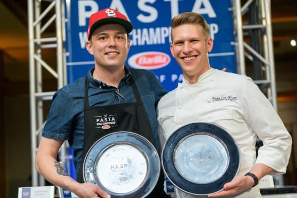 Winners at Pasta World Championship
