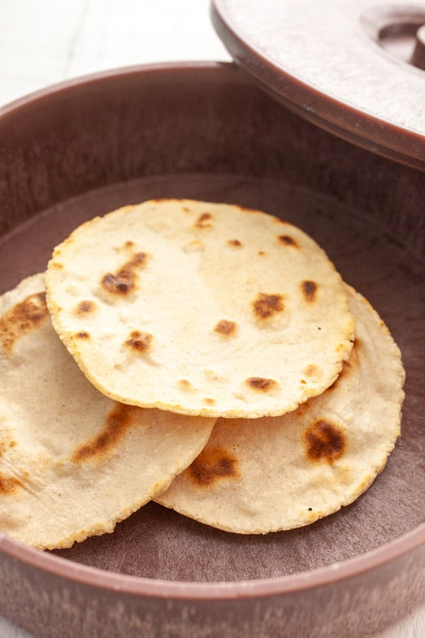 Storing tortillas - Homemade Tortillas