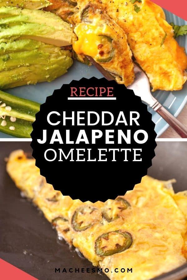 Cheddar Jalapeno Omelette
