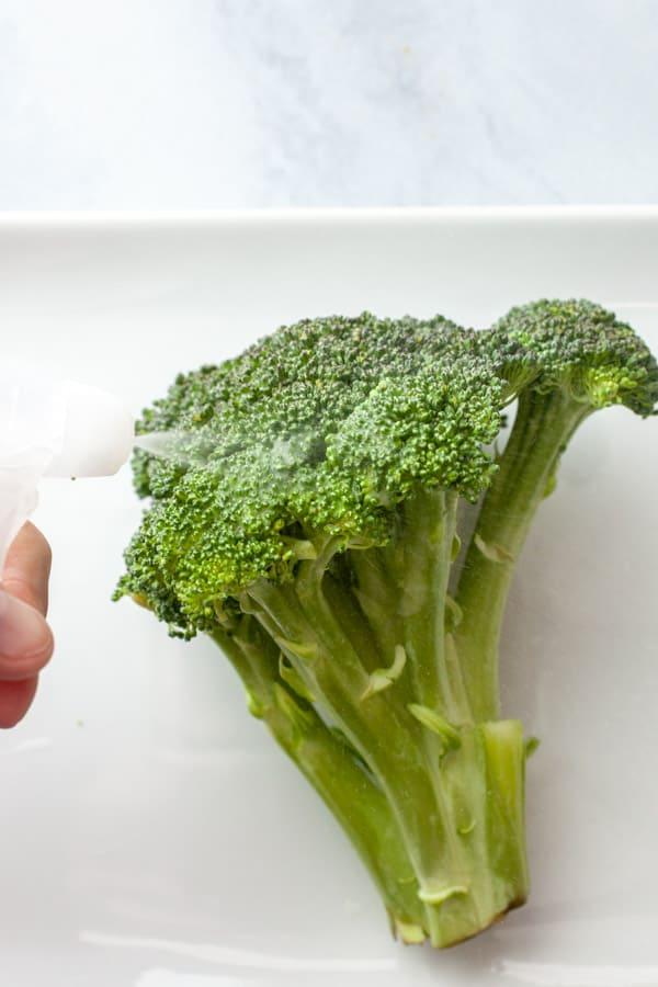 Using Produce wash
