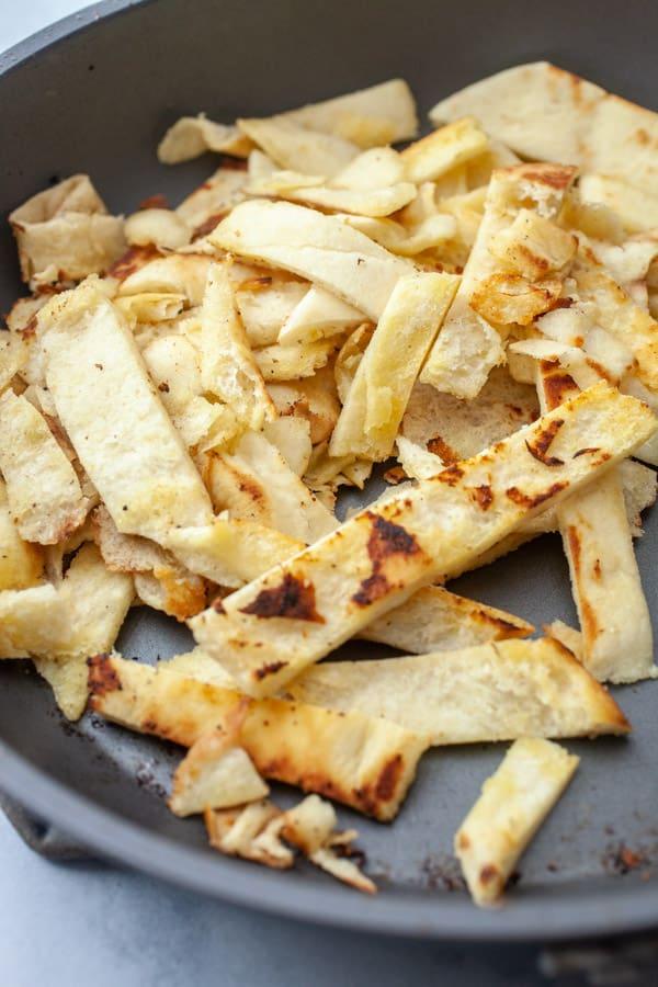 Crispy Roti for Stir Fry