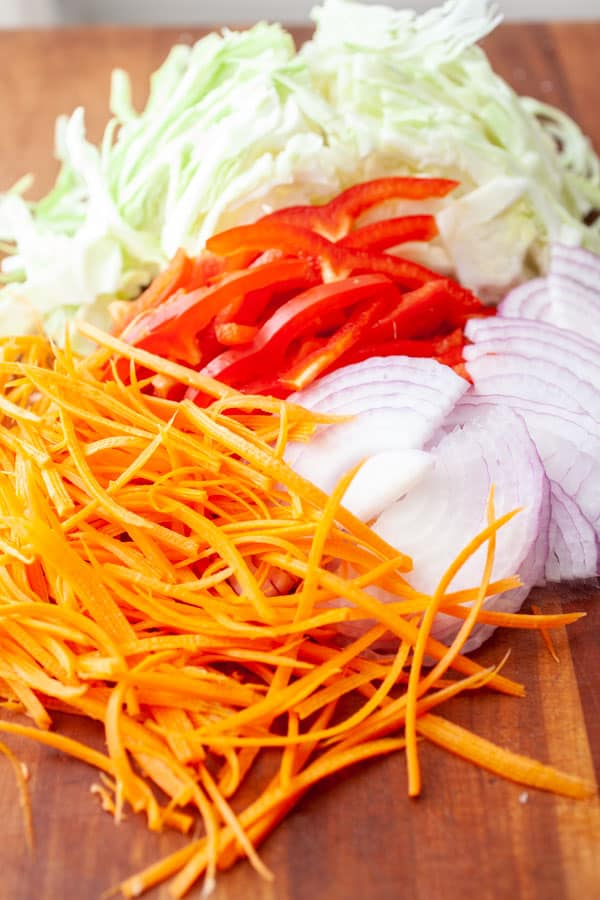 Veggies - Roti Stir Fry