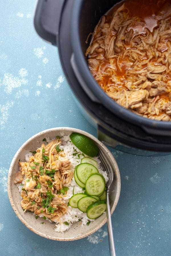 Coconut Chicken Rice Bowls