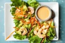 Avocado Shrimp Lettuce Wraps