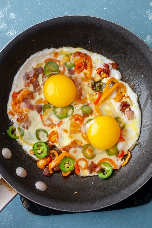 Eggs - Sunny side up Scramble