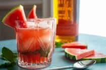 Watermelon Bourbon Smash