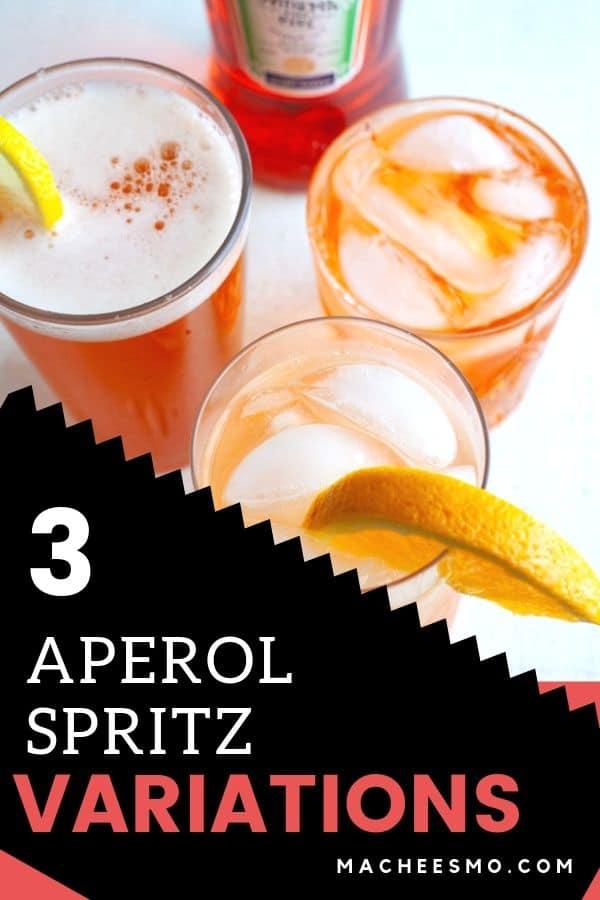 Aperol Spritz Variations