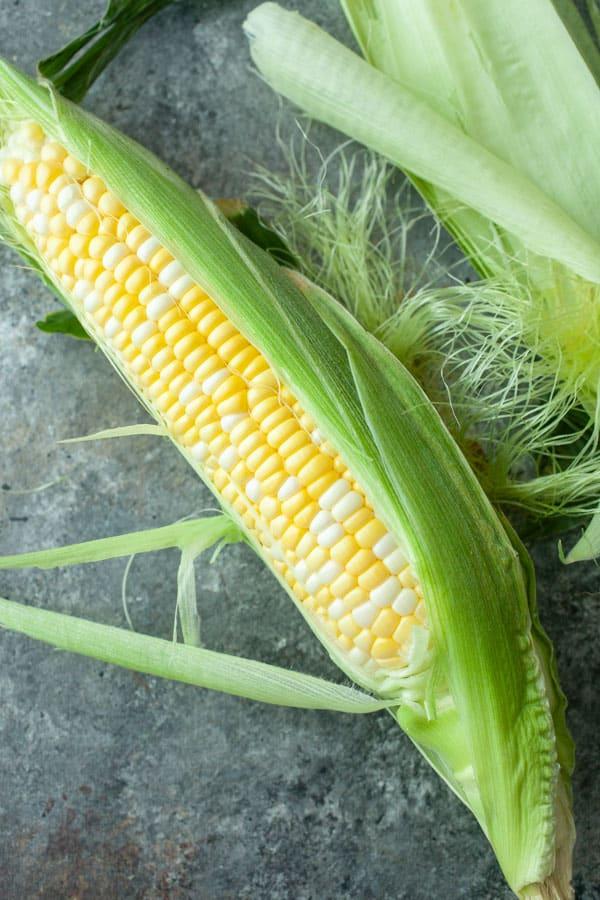 Sweet corn - Elote Cream Cheese Spread