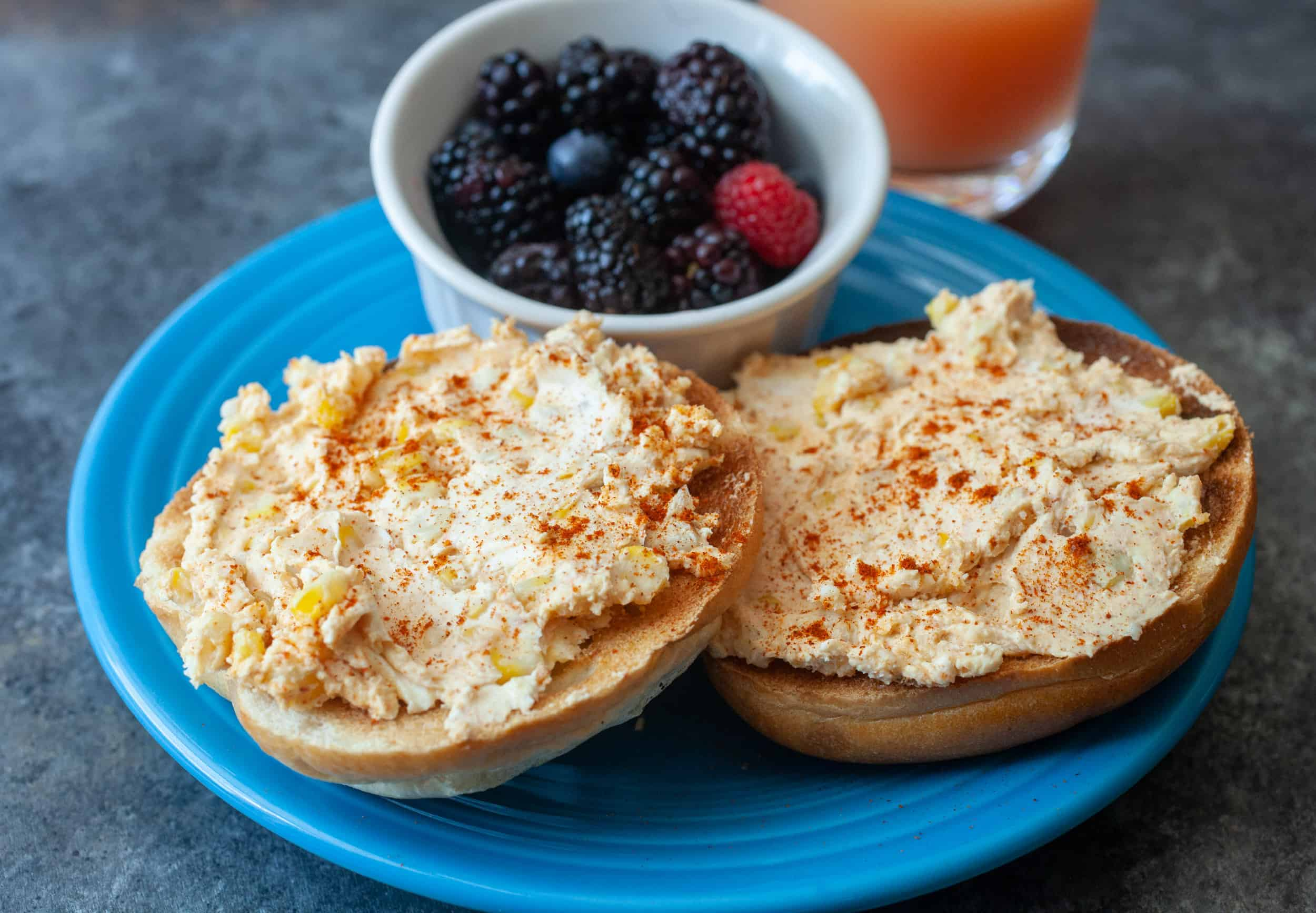 Elote Cream Cheese Spread