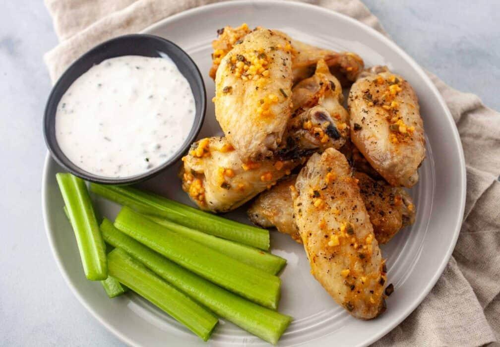 Garlic Butter Chicken Wings