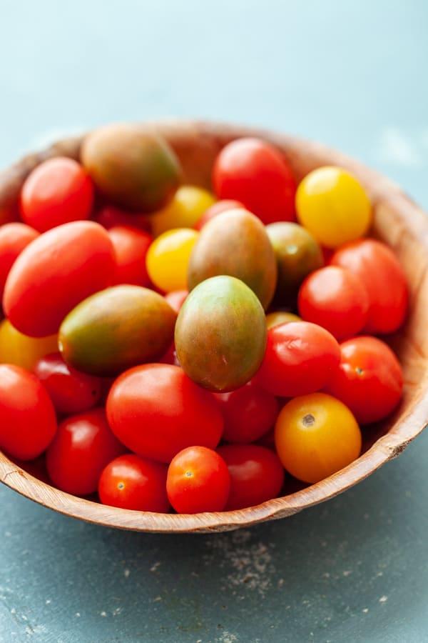 Tomatoes - Tomato Burrata Benedict
