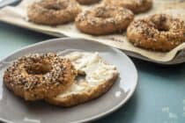 Pizza Dough Bagels
