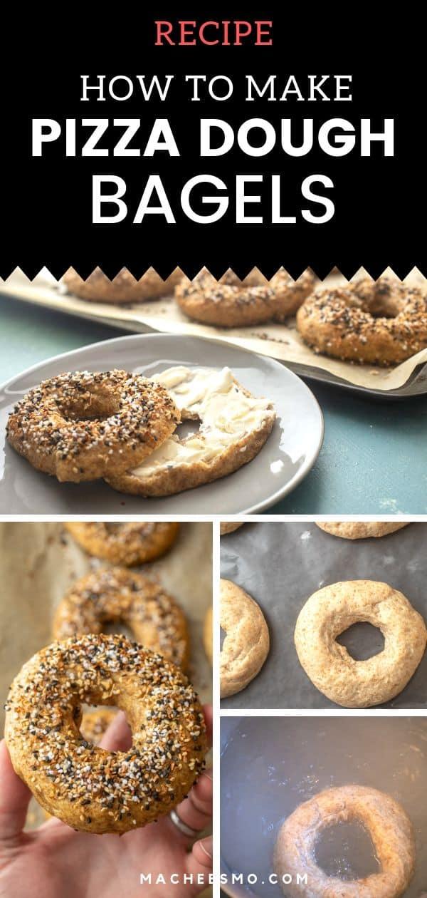 Pizza Dough Bagels