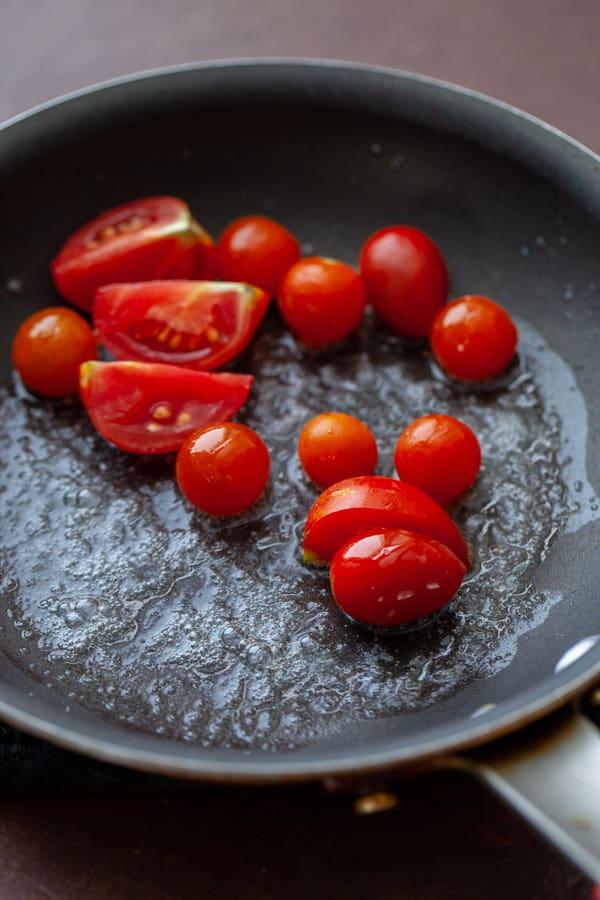 Tomatoes - Savory Tomato Oatmeal