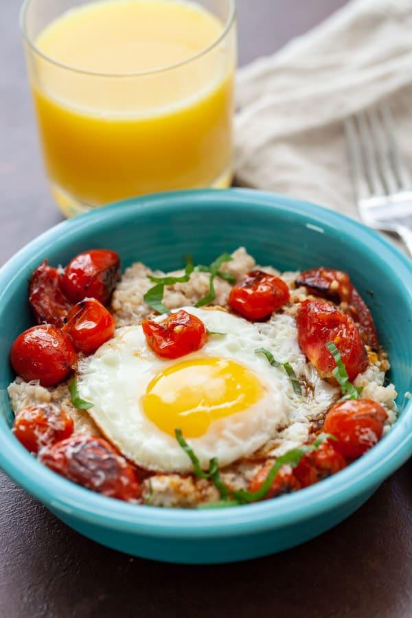 Savory Tomato Oatmeal