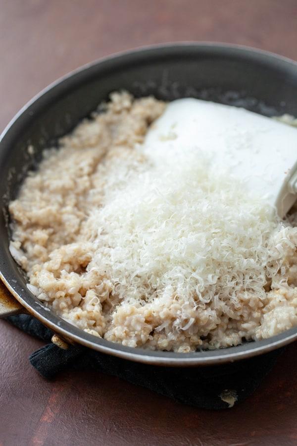 Parmesan - Savory Tomato Oatmeal