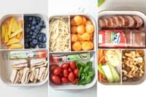Three Easy Bento Box Lunches