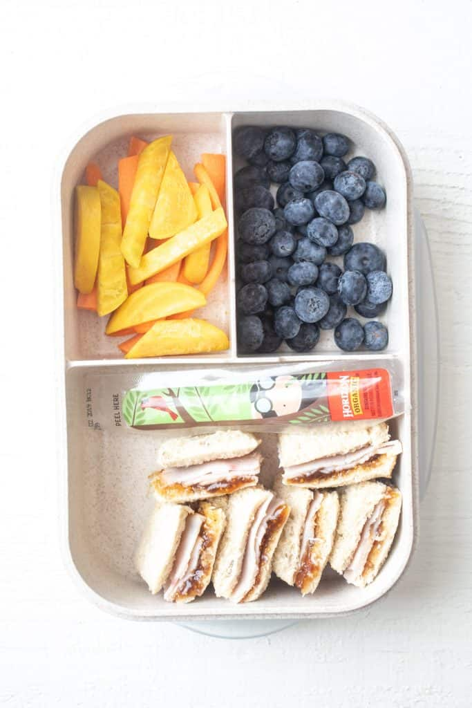 Autumn Crunch Bento Box - Three Easy Bento Box Lunches