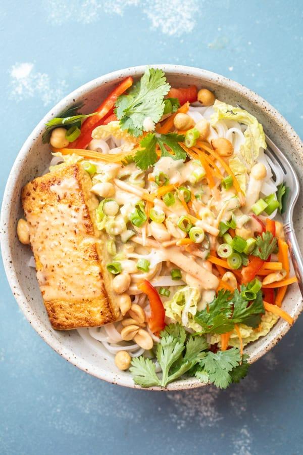 Green Thai Noodle Bowls