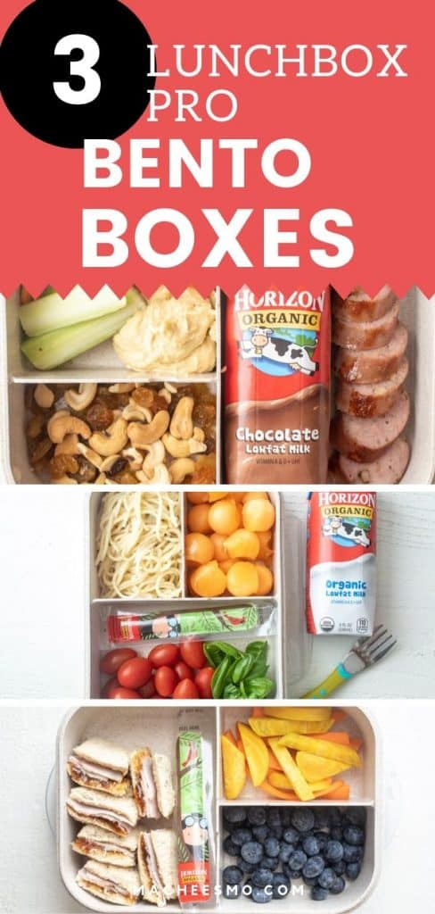 Three Easy Bento Box Lunch Ideas