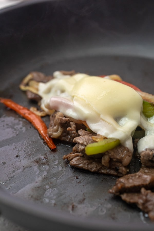 Cheese added - Steak Hoagies