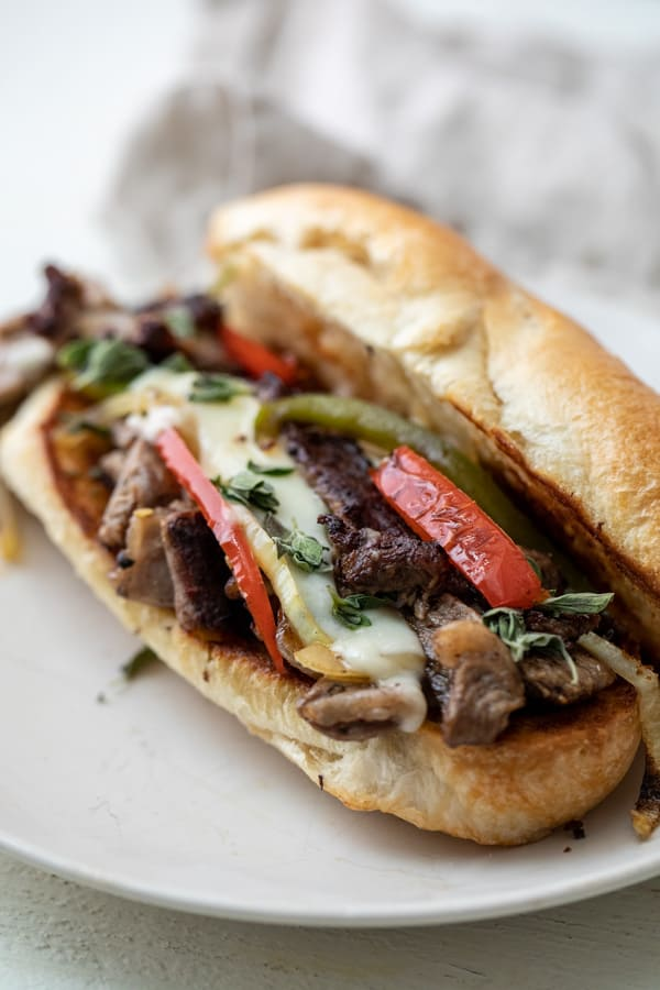 Steak Hoagies with Peppers and Onions