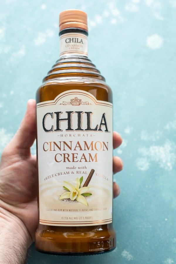 Cinnamon Cream for Boozy Pumpkin Milkshakes