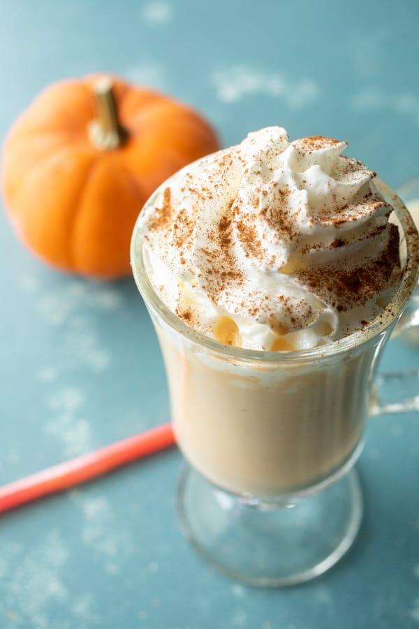 Adult Boozy Pumpkin Milkshakes