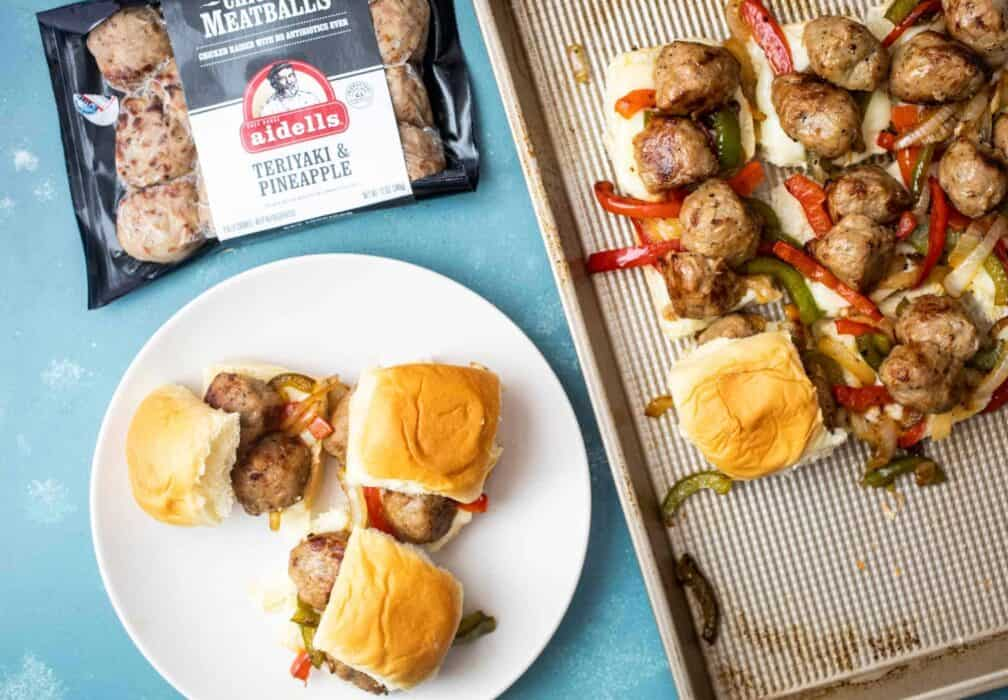 Chicken Meatball Sliders