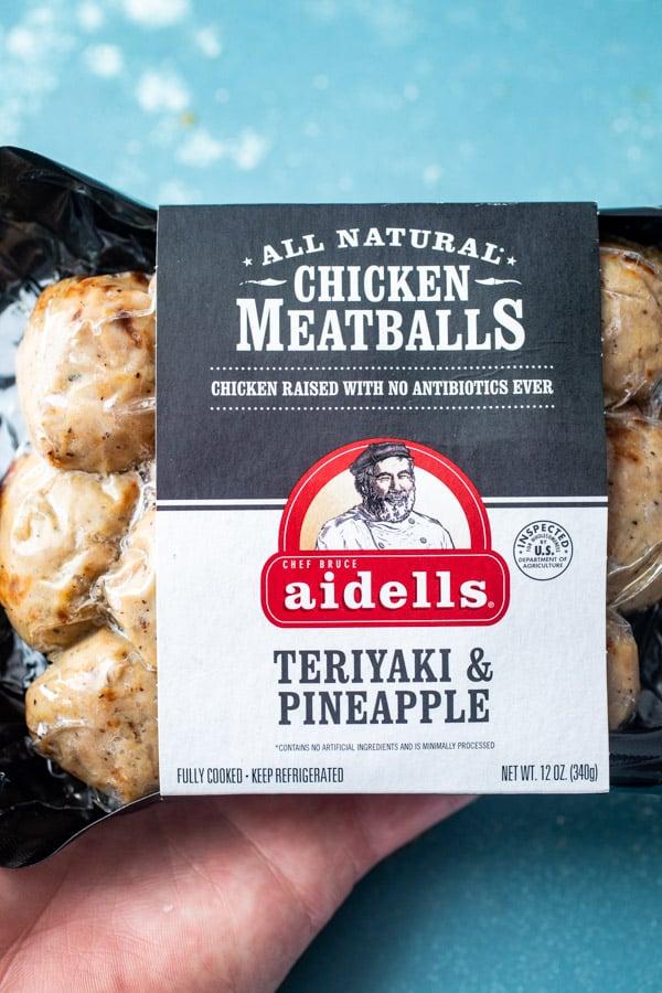 Aidells Meatballs - Chicken Meatball Sliders