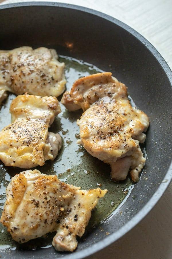 Browning Chicken - Chicken Mole Pasta
