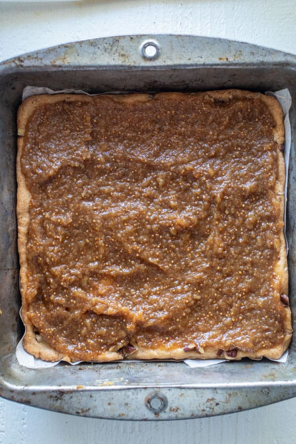 Fig layer - Homemade Fig Bars