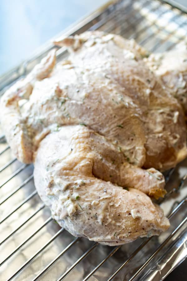 Ready to roast - Palestinian Chicken