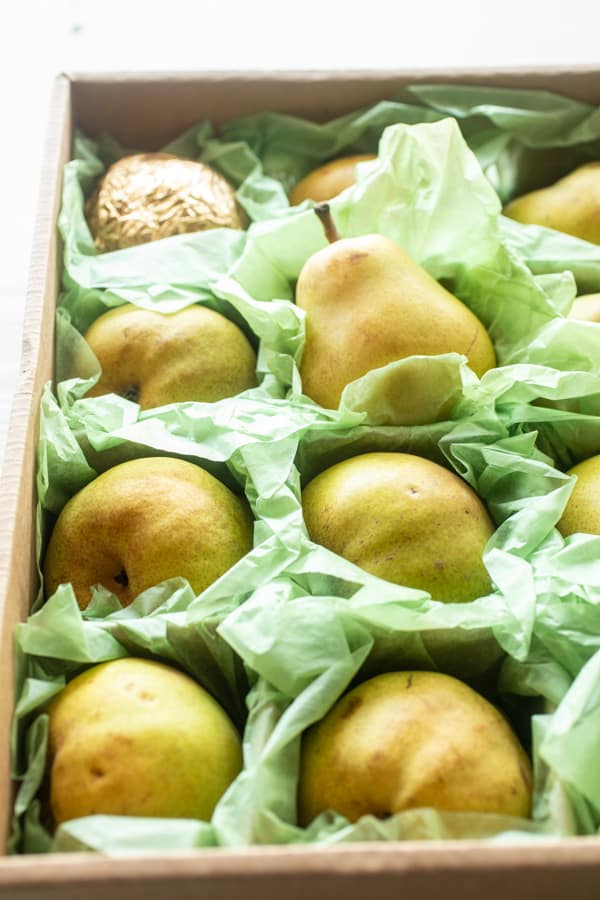 Pretty pears - Pear Galette