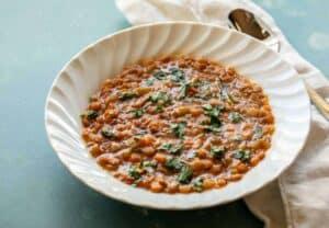Instant Pot Greek Lentil Soup