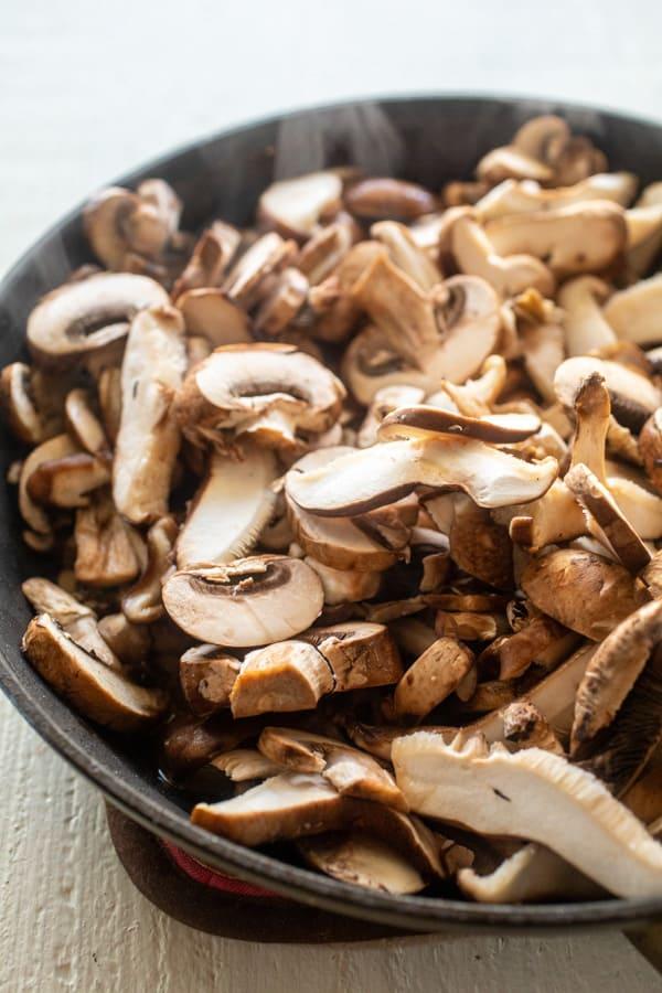 Lots of mushrooms