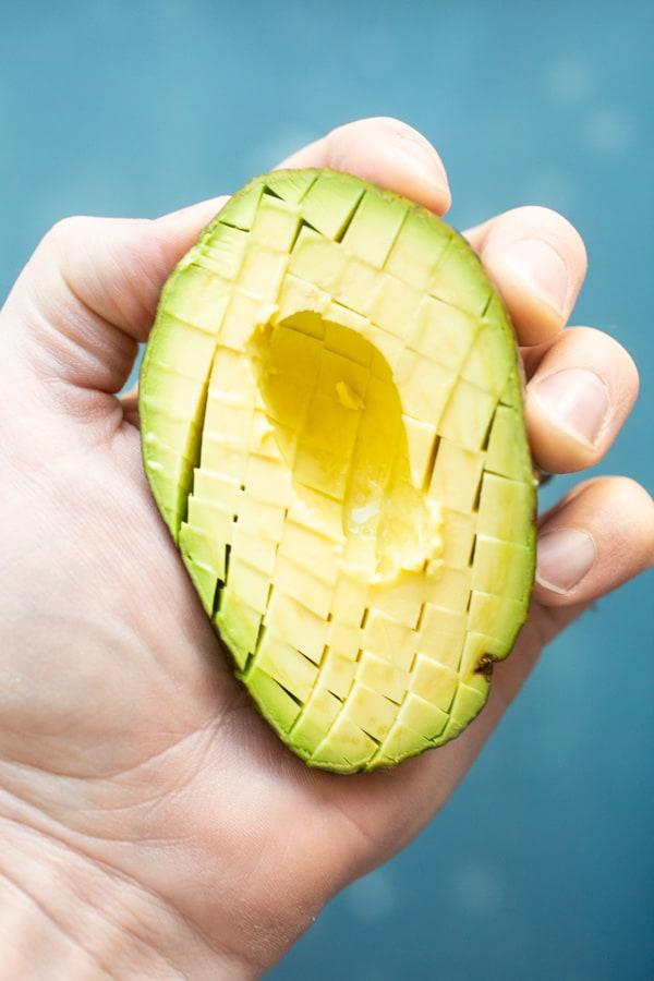 Perfect avocado for egg salad