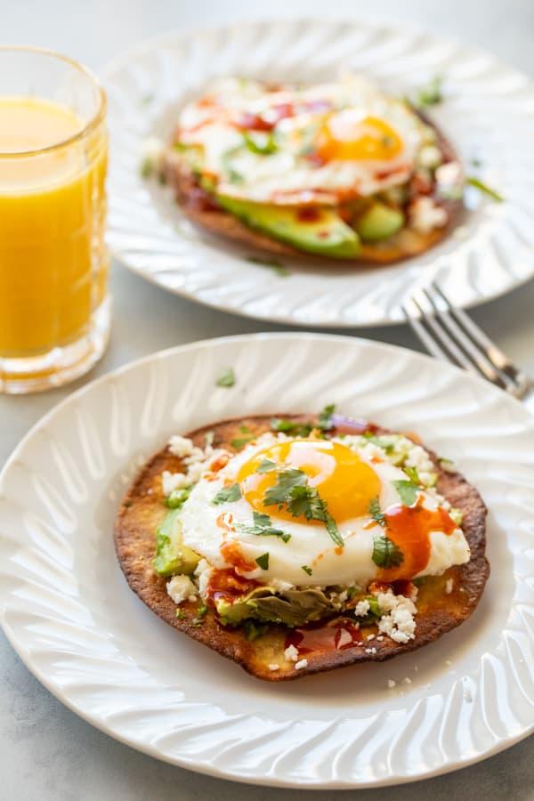 Homemade Breakfast Tostada