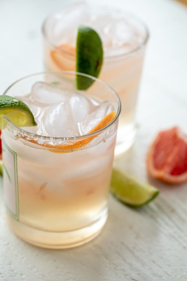 Grapefruit Margaritas Cocktail